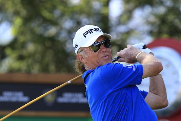 Miguel Ángel Jiménez. © Golffile