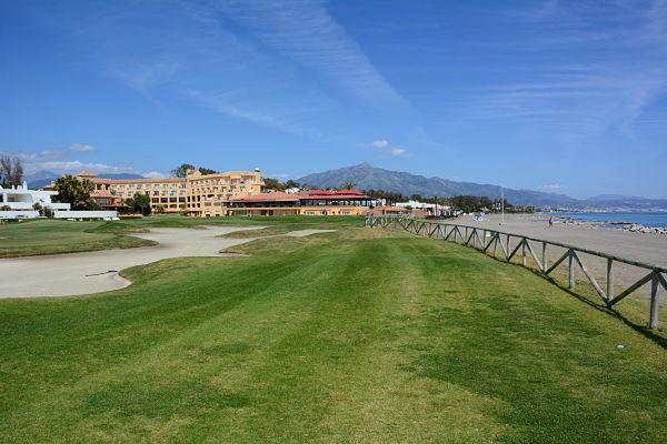 El mítico hoyo 11 de Guadalmina Sur se jugará como hoyo 10 en el Open de España.