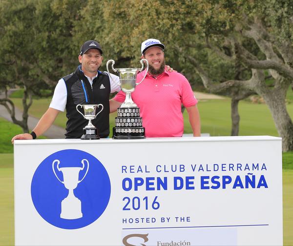 Andrew Johnston fue el último ganador del Open de España en 2016. © Eoin Clarke | Golffile