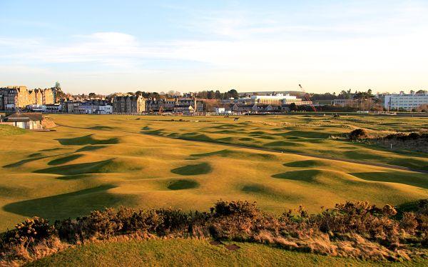 El Old Course de St. Andrews.