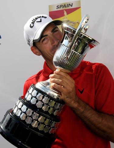 Álvaro Quirós ganó el Open de España en el Real Club de Golf de Sevilla.