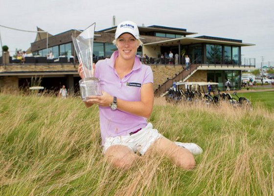 Melissa Reid ganó el Oates Vic Open el año pasado.
