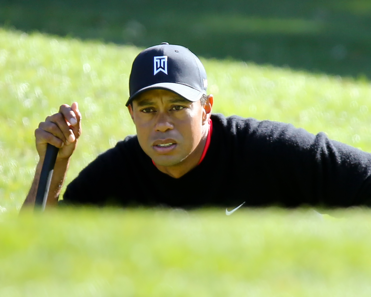 Tiger Woods es el jugador más joven de la historia en meterse entre los tres primeros del mundo. © Golffile