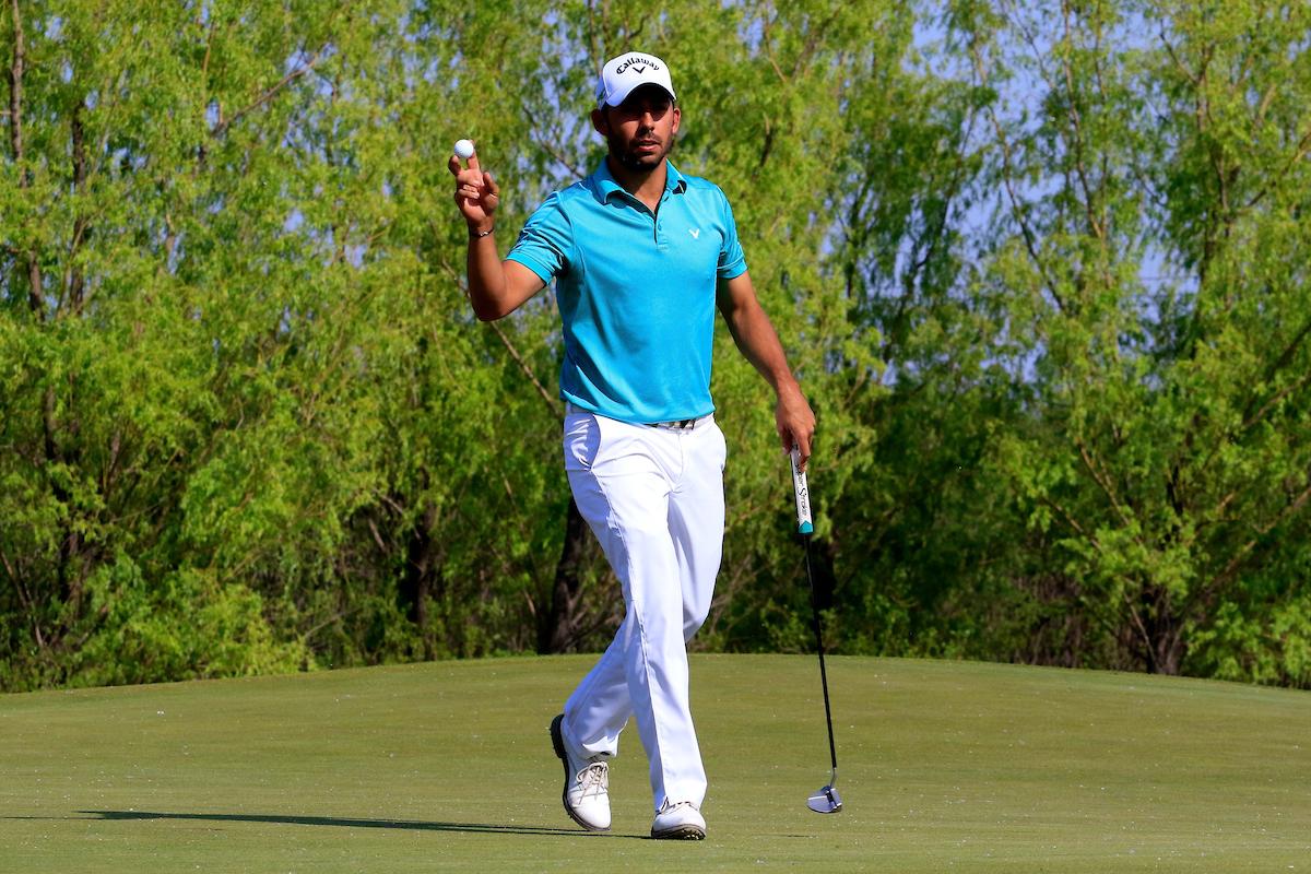 Pablo Larrazábal durante la segunda ronda en el Topwin Golf de Pekín. © Golffile | Phil Inglis