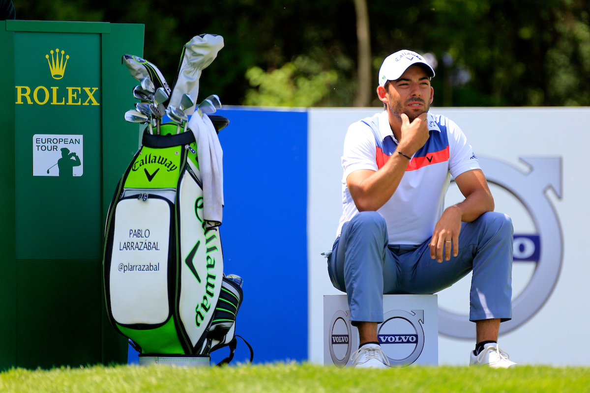Pablo Larrazábal durante la tercera ronda en el Topwin Golf. © Golffile | Phil Inglis