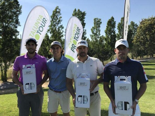 Ganadores del Catalunya Pro Tour en Golf La Roca.
