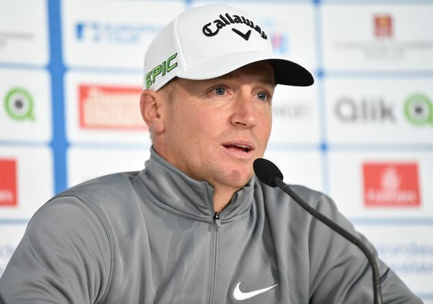Alex Noren of Sweden talks with the media during a press conference prior to the start of the Nordea Masters at Barseback Golf & Country Club. © Getty Images | Stuart Franklin