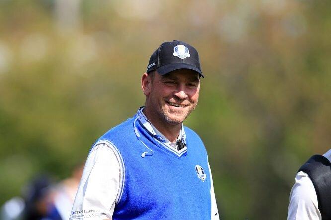 Thomas Bjorn está encantado en el papel de capitán de la Ryder Cup. © Golffile | Eoin Clarke