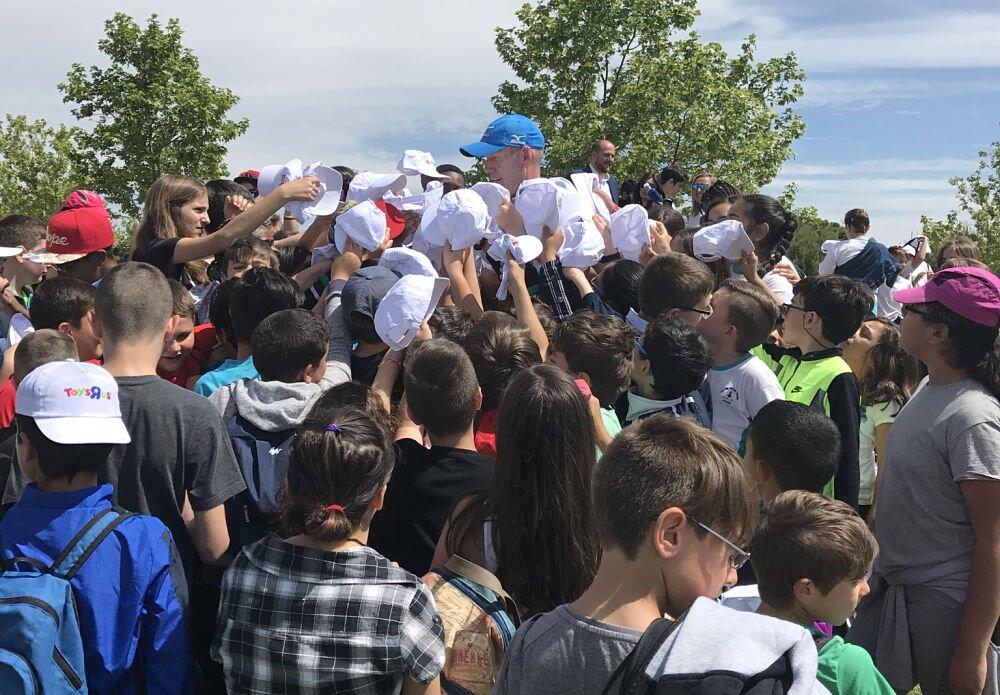 Los niños se lo han pasado en grande hoy en el Alps Las Castillas.