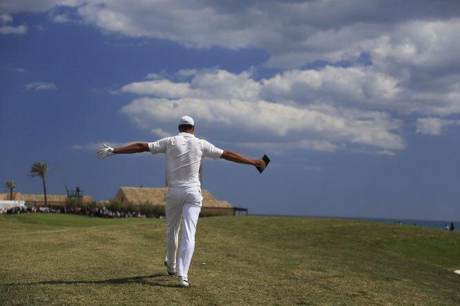 Álvaro Quirós se mete en el pelotón de los mejores 250 del mundo. © Golffile | Fran Caffrey