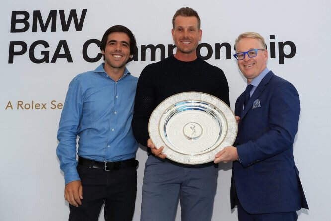 Stenson recibe el Premio Seve Ballesteros © European Tour