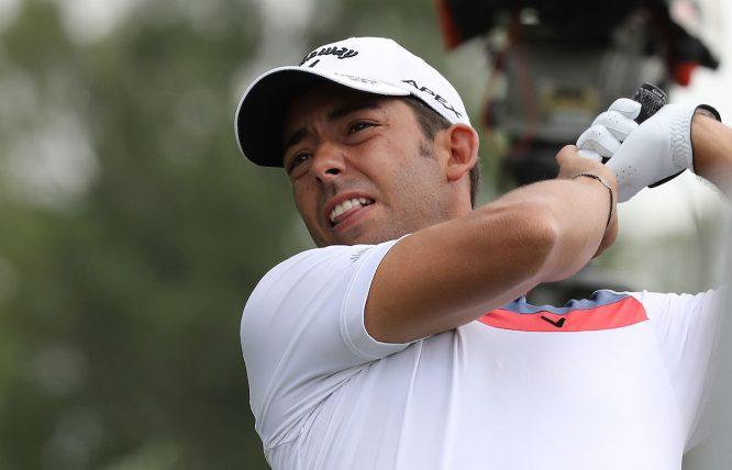 Pablo Larrazábal, esta semana en el BMW International Open. © Golffile