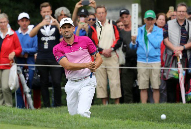 Sergio García, este domingo en el BMW International Open. © Golffile