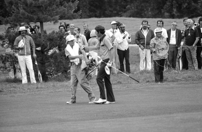 Hale Irwin, ganador del US Open de 1974.