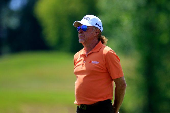 Miguel Angel Jimenez. © Golffile | Phil Inglis