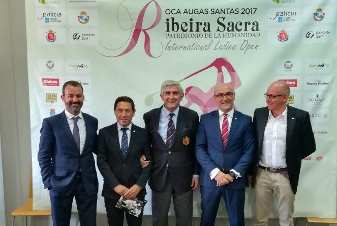Presentación del Ribeira Sacra Patrimonio de la Humanidad International Ladies Open.
