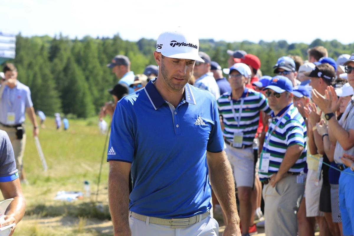 Dustin Johnson. © Golffile | Eoin Clarke