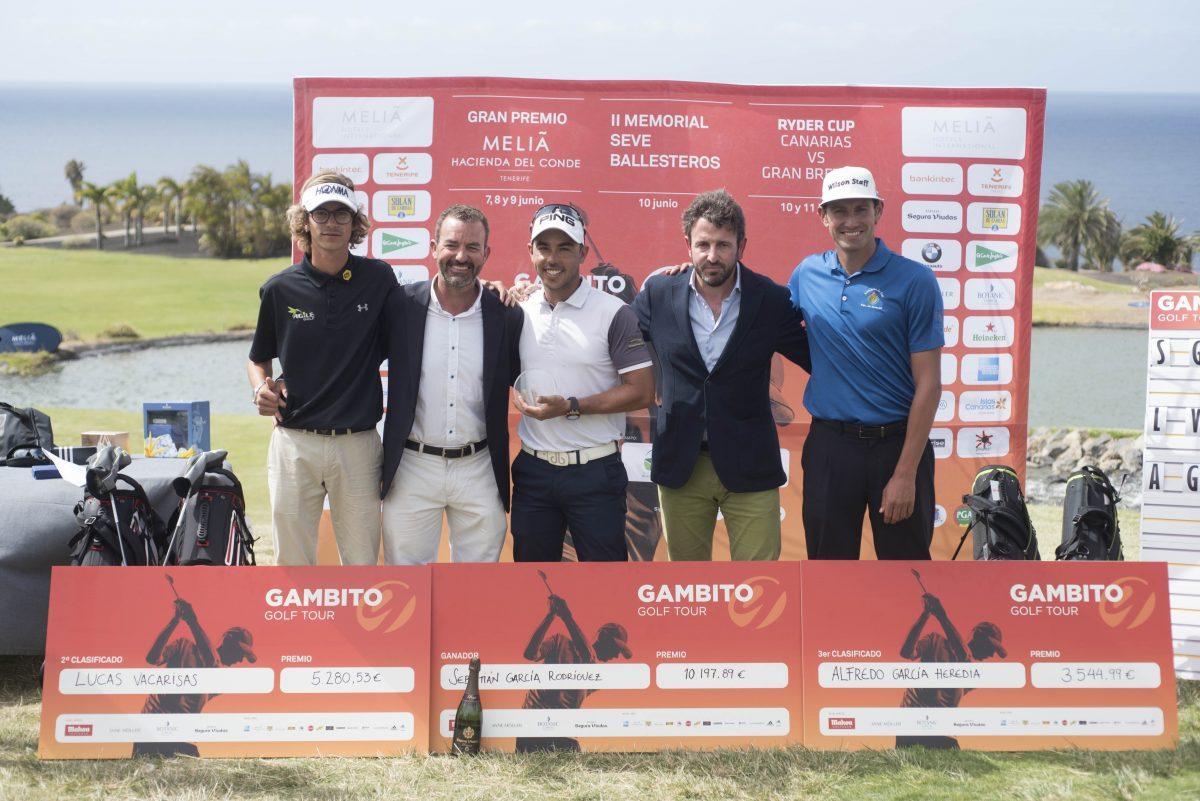 Los ganadores del Gran Premio Meliá Hacienda del Conde.