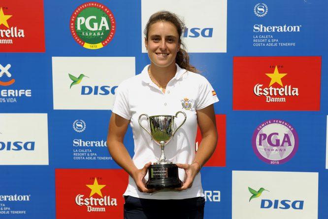 Marta Sanz, ganadora de la pasada edición del WPGA Campeonato de España.