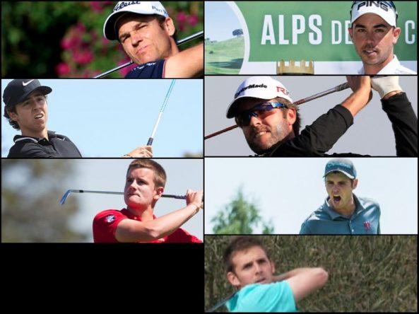 Los siete españoles que jugarán el próximo martes la previa final del British Open.
