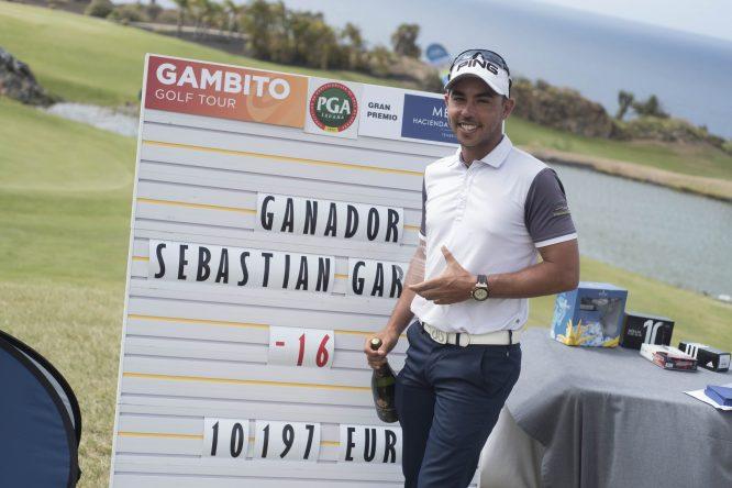Sebastián García Rodríguez,, ganador del Gran Premio Melià Hacienda del Conde.