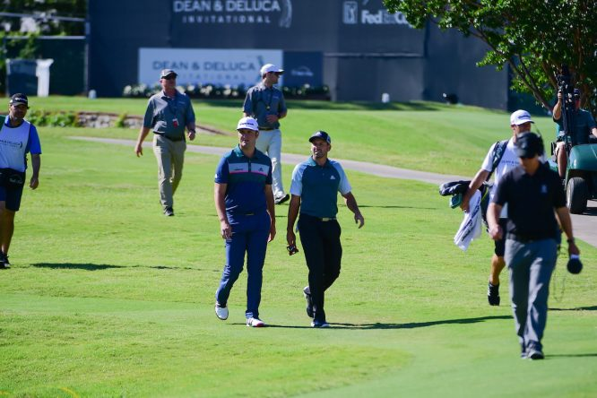 Sergio García y Jon Rahm. © Golffile | Ken Murray