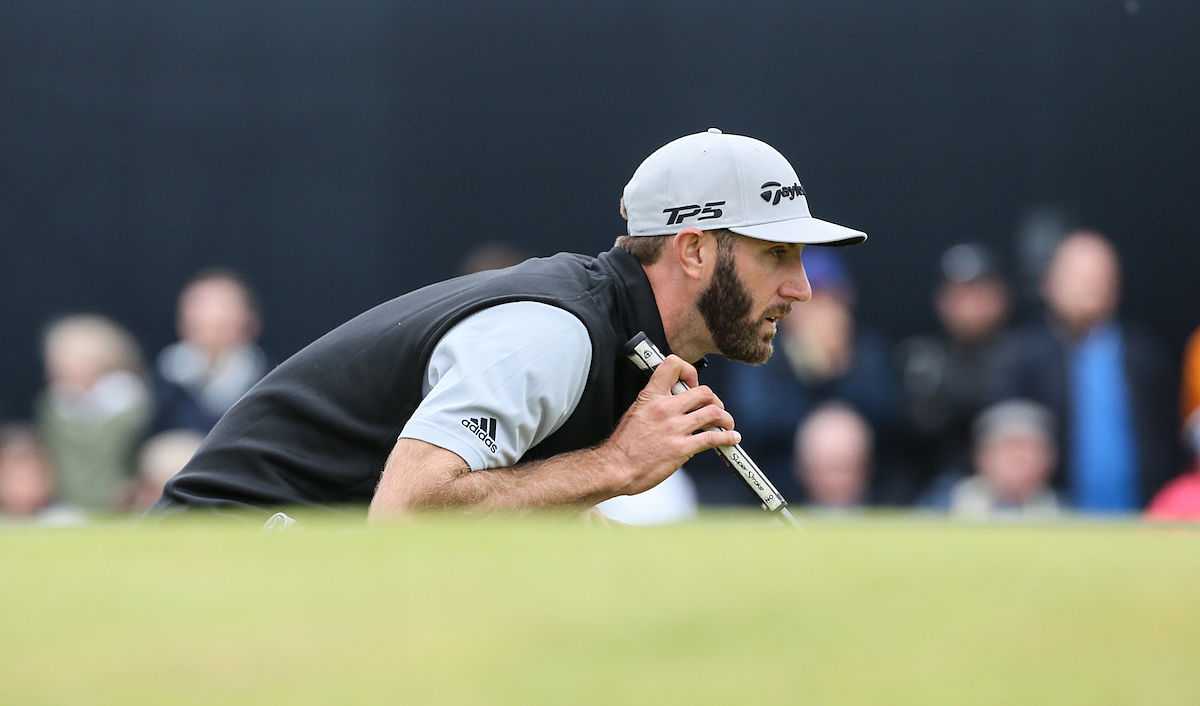 Dustin Johnson, en Royal Birkdale. © Golffile | David Lloyd