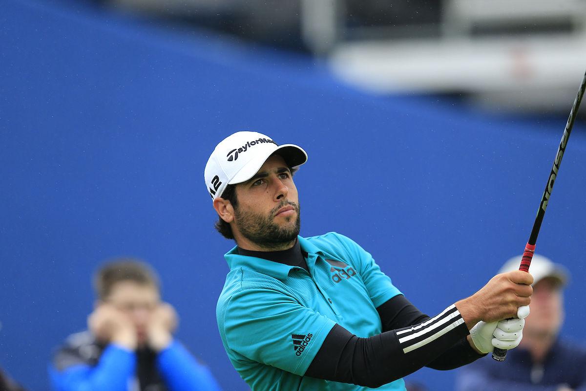 Adrián Otaegui, hoy en la segunda ronda del Irish Open. © Golffile   Eoin Clarke