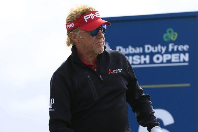 Miguel Ángel Jiménez. © Golffile | Eoin Clarke