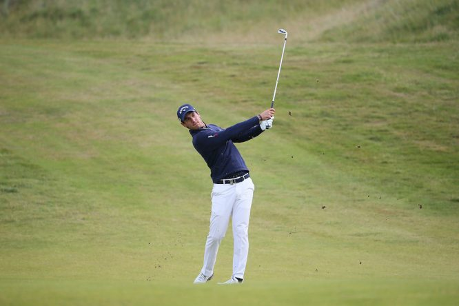 Matteo Manassero, en el Irish Open. © Golffile | David Lloyd