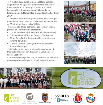 V Ribeira Sacra Patrimonio de la Humanidad International Ladies Open