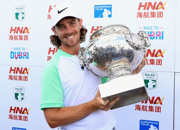 Tommy Fleetwood of England celebrates victory following day four of the HNA Open de France at Le Golf National on July 2, 2017 in Paris, France. (Photo by Andrew Redington/Getty Images)