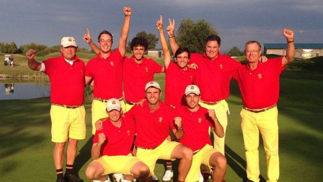 Los campeones de Europa celebran la victoria en Austria.