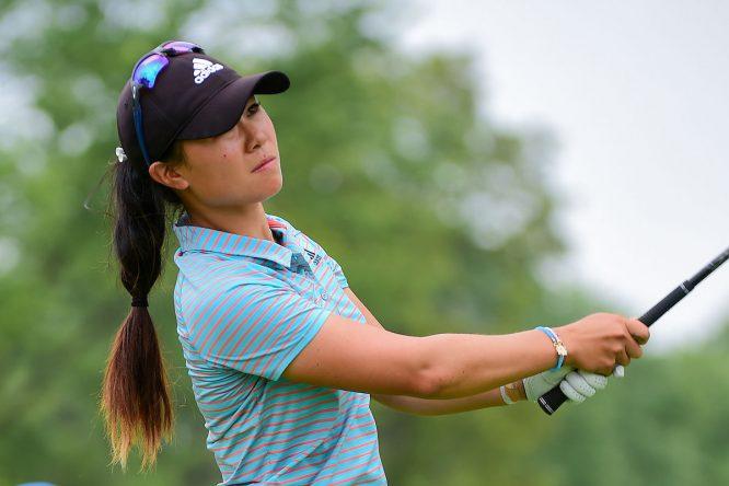 Danielle Kang, una de las líderes del KPMG Women's PGA Championship. © Ken Murray | Golffile