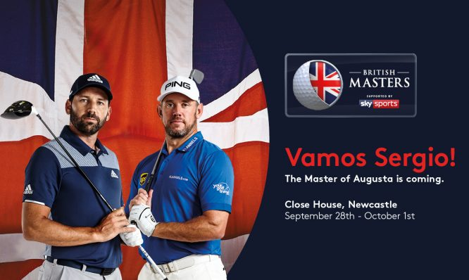 Sergio Garcia and Lee Westwood - British Masters. © Getty Images