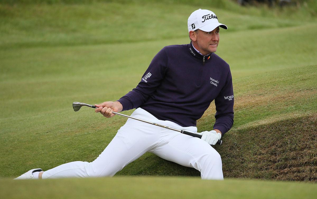 Ian Poulter está en la pelea por ganar el Open Championship. © Golffile | David Lloyd