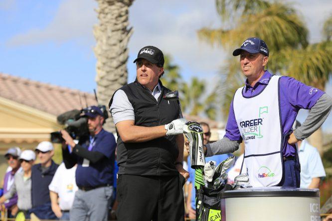 Mickelson y Mackay © Golffile   Eoin Clarke