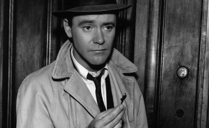 El actor estadounidense Jack Lemmon.