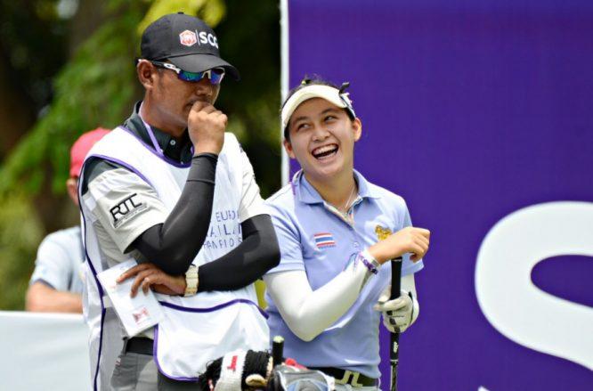 Atthaya Thitikul se ha convertido hoy en la ganadora más joven de la historia del Ladies European Tour. © Twitter