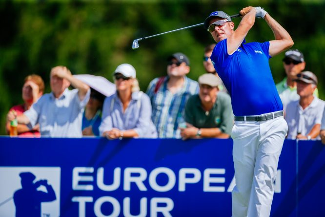 Mikko Ilonen of Finnland is seen at day one of the Saltire Energy Paul Lawrie Matchplay at Golf Resort Bad Griesbach on August 17, 2017 in Passau, Germany. (Photo by Thomas Niedermueller/Getty Images)