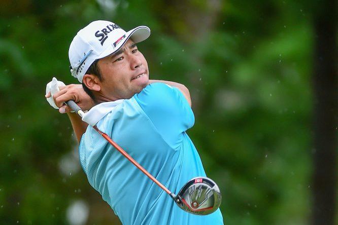 Hideki Matsuyama, hoy en la segunda ronda del PGA Championship. (© Golffile | Ken Murray