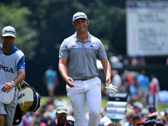 Jon Rahm, hoy en la tercera ronda del PGA Championship. © Golffile | Ken Murray