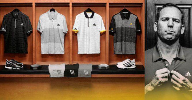 Ropa de Sergio para el PGA Championship © Adidas Golf