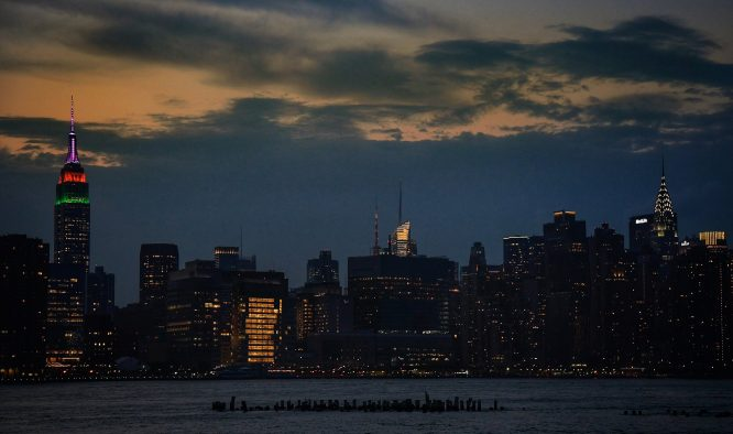 Skyline de New York esta madrugada © PGA Tour