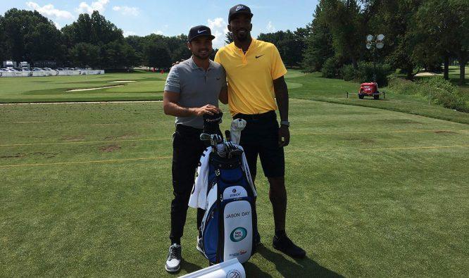 Jason Day y J.R. Smith © PGA Tour