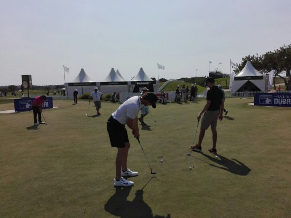 Thomas Pieters hoy en Dom Pedro Victoria Golf course. © Tengolf