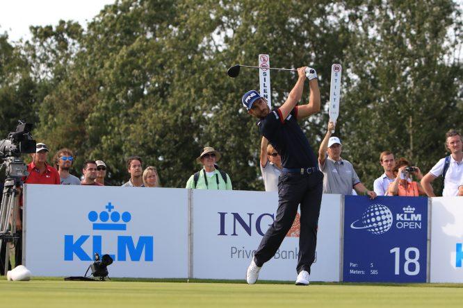 Alejandro Cañizares en el Dutch Golf Club durante el KLM Open 2016. © Thos Caffrey | Golffile