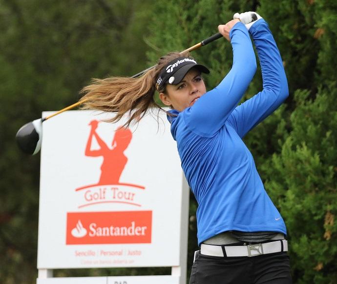 Meghan Maclaren en el Santander Golf Tour. © Fernando Herranz