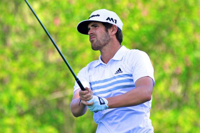 Nacho Elvira, el mejor español en el Portugal Masters 2016. © Golffile | Phil Inglis
