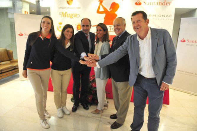 Todos a una para afrontar la cuarta prueba del Santander Tour en Pedreña.